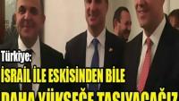 Türkiye: İSRAİL İLE İLİŞKİLERİMİZİ ESKİSİNDEN BİLE DAHA YÜKSEĞE TAŞIYACAĞIZ