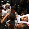Filistinli Şehit En-Neccar'ın Cenazesi Büyük Bir Kalabalık Tarafından Kaldırıldı