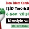 """Tasarım: İran İslam Cumhuriyeti, IŞİD Teröristlerini 6 Adet """"ZÜLFİKAR"""" Füzesiyle Vurdu"""