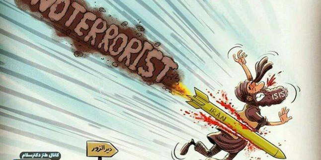 İRAN, İŞİD'İ KEVGİRE ÇEVİRDİ. /KARİKATÜR