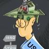 Karikatür: ABD'nin İŞİD ile mücadelesi!!!