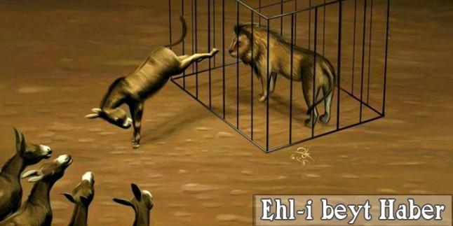 Karikatür: POLİTİKACILARIN PENÇESİNE DÜŞMÜŞ OLAN HALKIN HALİ!!!