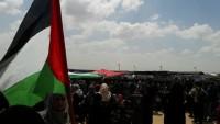 Hamas: İşgalci Büyük Dönüş Yürüyüşleri Karşısında Şoke Oldu 