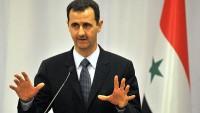 Beşşar Esad: Suriye ve bölge halkı İran'a güvenmektedir