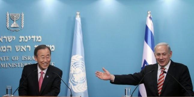 Ban Ki Moon Filistin'e Sadece Sözde Destek Vermeye Devam Ediyor…