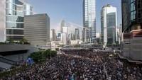 Hong Kong'daki gösterilerde 80 gözaltı