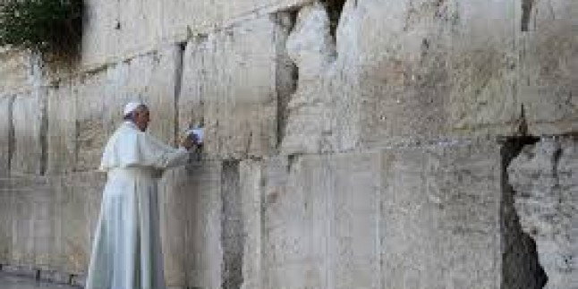 Siyonist Papa, müridleri  olan Işid canileri ile diyalog kurulmasını istedi…