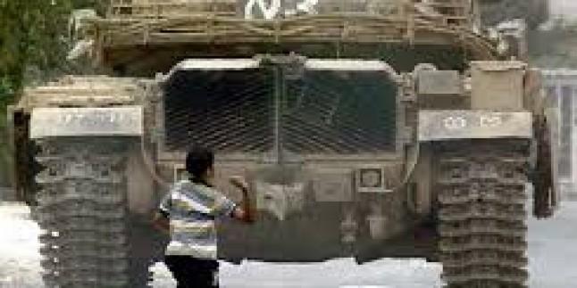 Ramallah'ta çatışma