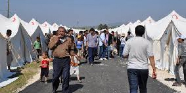 Suriye'li mülteciler açlık grevinde…