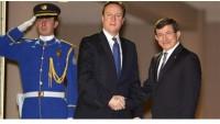 David Cameron ve Davutoğlu ikili görüşme yaptı
