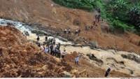 Endonezya'da Meydana Gelen Heyelanda Ölenlerin Sayısı 24'e Çıktı…