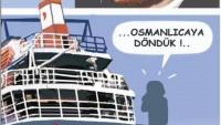 Karikatür: Osmanlıca'nın Kullanıldığı Yerler