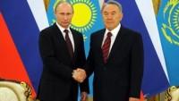 Putin ve Nazarbayev Bu Yıl 10. Kez Bir Araya Geldi…