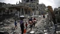 BM, Gazze'nin yeniden yapılandırılması için para topluyor
