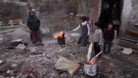 Türkiye'ye sığınan Suriyeliler açlıktan dileniyor