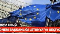 AB dönem başkanlığı İtalya'dan Letonya'ya geçecek