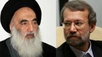 Laricani Ayetullah Sistani İle Görüştü…