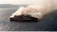 478 kişi taşıyan gemide yangın çıktı…