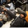 Londra'da Eric Garner İçin Düzenlenen Prostesto Gösterilerinde 80 Eylemci Göz Altına Alındı…