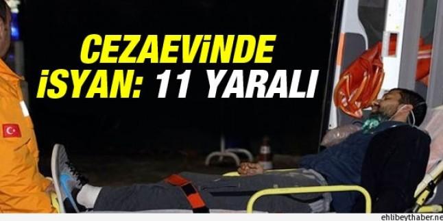 Eskişehir H Tipi Cezaevi'nde İsyan Çıktı…