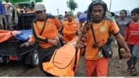 Endonezya'da heyelan