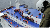 Norman Atlantic gemisinden kurtulan 212 kişi İtalya'da