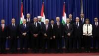 Filistin uzlaşı hükümetinde görev yapan 11 bakan, çok sayıda idareci ve yetkiliden oluşan heyet Gazze'ye gitti.