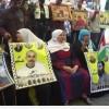 Filistinli Tutukluların Aileleri Gösteri Düzenledi…