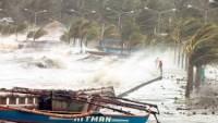 Filipinler Tayfunun Dinmesini Bekliyor…