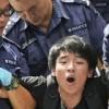 Hong Kong'da polis ile göstericiler arasında çatışma
