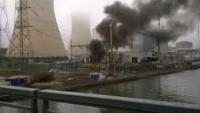 Belçika'da nükleer santralde yangın