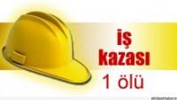 Bir İşçi Daha İş Kazasına Kurban Gitti…
