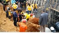 Kahramanmaraş'ta Drenaj Çalışmasında Göçük Oluştu…