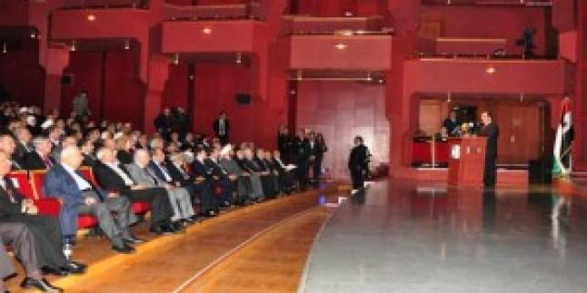 Suriye Cumhurbaşkanı Beşar Esad Filistin'li Gurbetçiler Birliği'ni Kabul Etti…