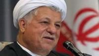 Irak Meclis Başkanı Ayetullah Haşimi Rafsancani ile görüştü