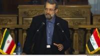 Laricani: İran'ın En Büyük Kaygılarından Biri Irak ve Suriye'deki Terör Krizidir…