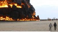 Libya, petrol limanında çıkan yangının söndürülmesi için İtalya'ya çağrıda bulundu
