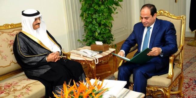 Sisi, Suudi İstihbarat başkanıyla görüştü