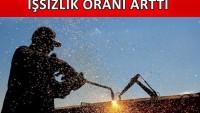 Türkiye'de işsizlik oranı artış kaydetti