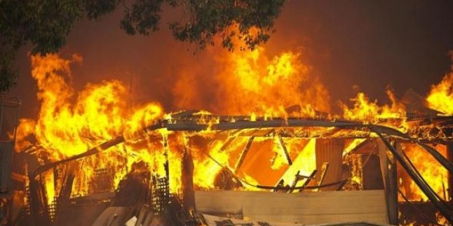 Avustralya'da Kontrol Altına Alınamayan Yangın 26 Evi Küle Çevirdi…