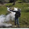 Foto: Ramallah Yakınlarında, Filistinli Gençlerle, Siyonist İşgal Güçleri Çatıştı…