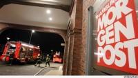 Almanya'nın Hamburger Morgenpost Gazetesine Ait Arşiv Binasına Eylem Düzenlendi…