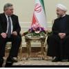 Ruhani, Gürcistan Meclis Başkanı İle Görüştü…