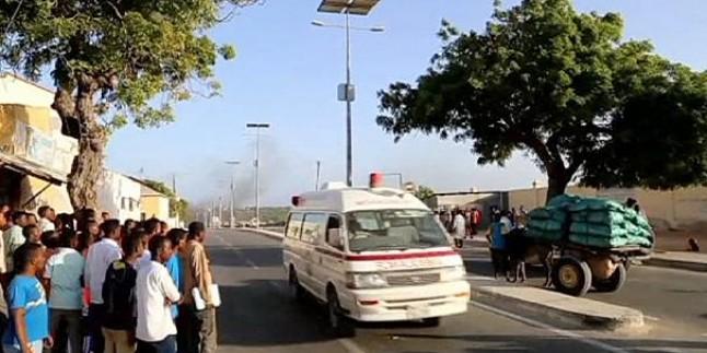 Mogadişu'da intihar saldırısı