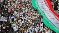 """İran İslam Cumhuriyeti'nde bugün """"İran İslam Cumhuriyeti günü"""""""