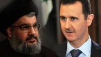 Beşar Esad: Seyyid Hasan Nasrallah, dürüst, şeffaf, ilkelerine, çalıştığı kişilere ve dostlarına bağlı bir insan