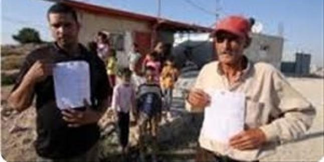 Siyonist İsrail Yönetimi El Ağvar Bölgesinde Filistinli Aileleri Evlerini Terk Etmeye Zorluyor…