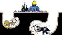 Karikatür: Siyonizm ve Uşakları Mescid-i Aksa'ya Saldırıyor…