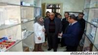 Foto: Suriye Sağlık Bakanı Yazıcı, İdlib İbni Sina Devlet Hastanesinde, İncelemelerde Bulundu…