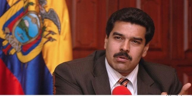 Venezuela Cumhurbaşkanı Tahran'da